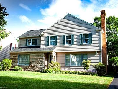 Shaker Heights Single Family Home For Sale: 22150 Rye Rd