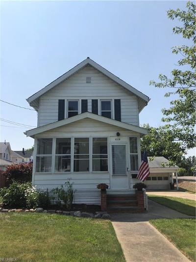 Medina Single Family Home For Sale: 609 North Broadway