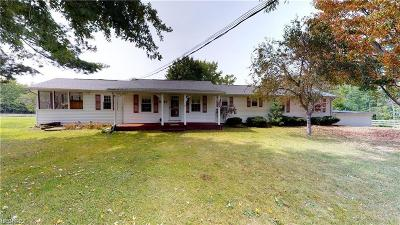 Leroy Single Family Home For Sale: 6062 Trask Rd