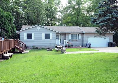 Muskingum County, Perry County, Guernsey County, Morgan County Single Family Home For Sale: 19700 Bridgewater Rd