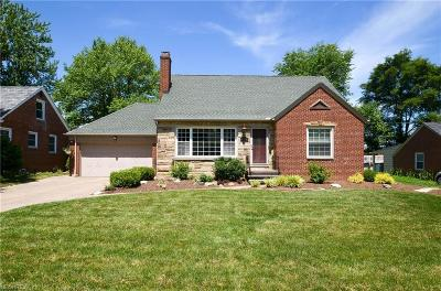 Fairview Park Single Family Home For Sale: 21920 Hillsdale Ave