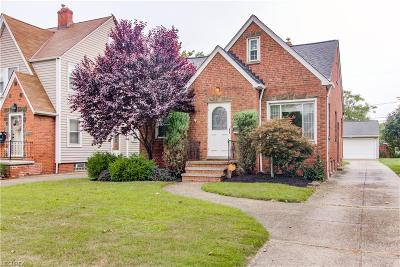 Cleveland OH Single Family Home For Sale: $145,900