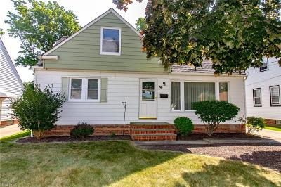 Willowick Single Family Home For Sale: 349 Clarmont Rd