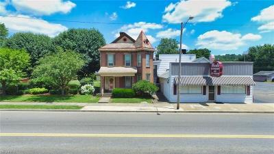 Zanesville Commercial For Sale: 726-730 Putnam Ave