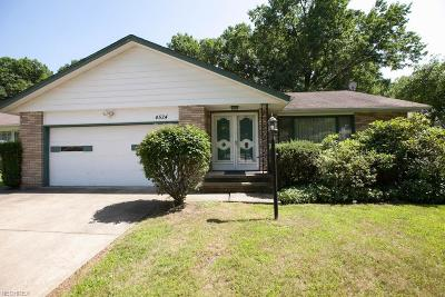 South Euclid Single Family Home For Sale: 4524 Whitehall Dr