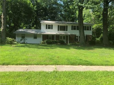 Mentor Single Family Home For Sale: 9359 Canterbury