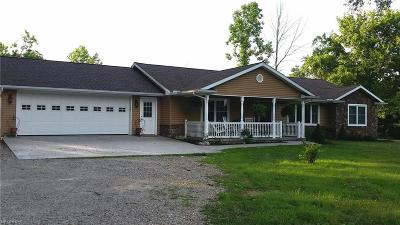 Muskingum County, Perry County, Guernsey County, Morgan County Single Family Home For Sale: 62057 Byesville Rd