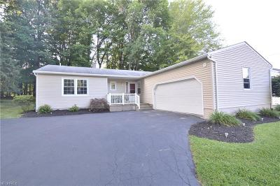 Youngstown Single Family Home For Sale: 1621 Rockwood Dr