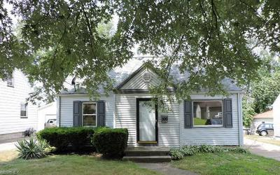 Hubbard OH Single Family Home For Sale: $99,900