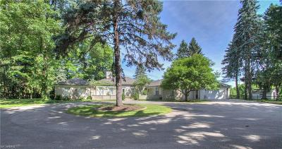 Waite Hill Single Family Home For Sale: 7321 Markell Rd