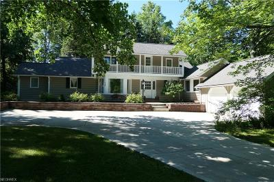 Pepper Pike Single Family Home For Sale: 30800 South Woodland Rd