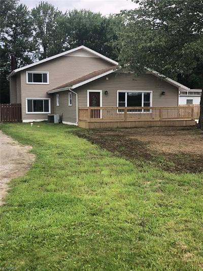 Single Family Home For Sale: 27248 Cook Rd