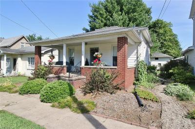 Dresden OH Single Family Home For Sale: $75,000