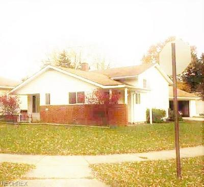 Cleveland OH Single Family Home For Sale: $131,900