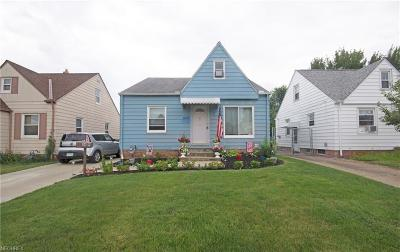 Parma Single Family Home For Sale: 5619 Snow Rd