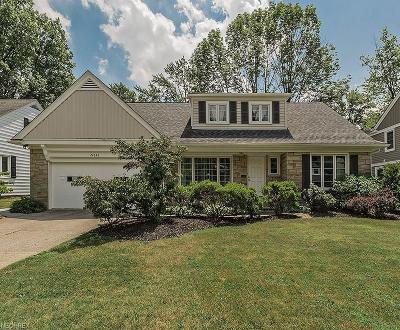 Shaker Heights Single Family Home For Sale: 24036 Wimbledon Rd