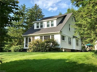 Gates Mills Single Family Home For Sale: 1439 Chagrin River Rd