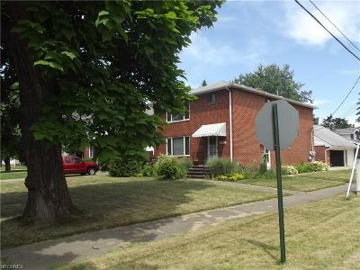 Maple Heights Multi Family Home For Sale: 16885 Libby Rd