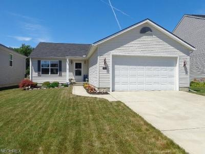 North Ridgeville Single Family Home For Sale: 6496 Majestic Dr