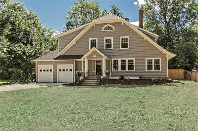 Shaker Heights Single Family Home For Sale: 2709 Southington Rd