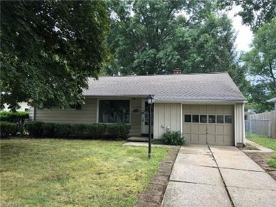 Parma Heights OH Single Family Home Pending: $75,000