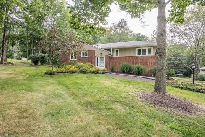 Lake County Single Family Home For Sale: 9150 Booth Rd