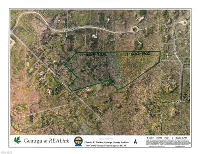 Chesterland Residential Lots & Land For Sale: V/L Sperry Rd