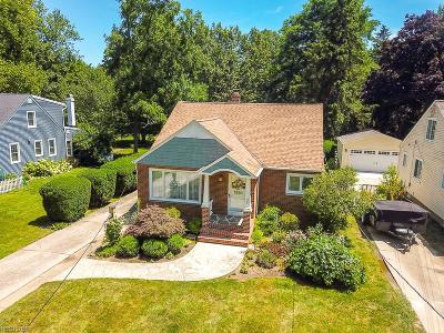 North Olmsted Single Family Home For Sale: 5001 Porter Rd