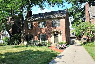 Shaker Heights Single Family Home For Sale: 3320 Dorchester Rd