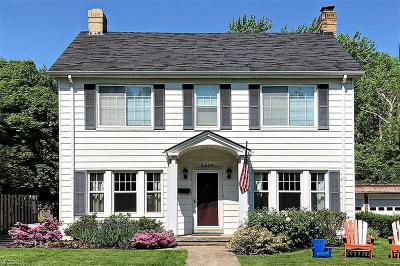 Shaker Heights Single Family Home For Sale: 3310 Stockholm Rd