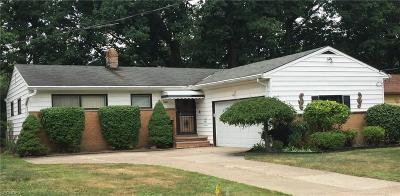 South Euclid Single Family Home For Sale: 208 South Belvoir Blvd