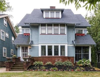 Cleveland Heights Single Family Home For Sale: 3262 Redwood Rd