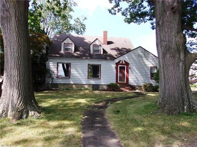 Girard Single Family Home For Sale: 606 North St Clair