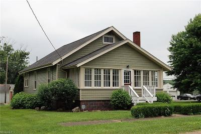 Philo OH Single Family Home For Sale: $135,900