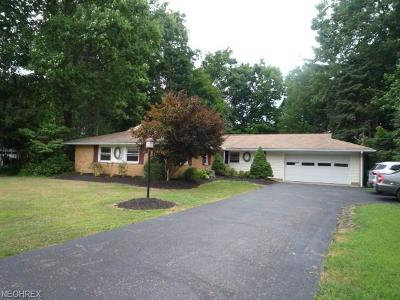 Mentor Single Family Home For Sale: 7438 Sherwood Dr