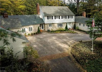 Gates Mills Single Family Home For Sale: 37749 Cedar Rd