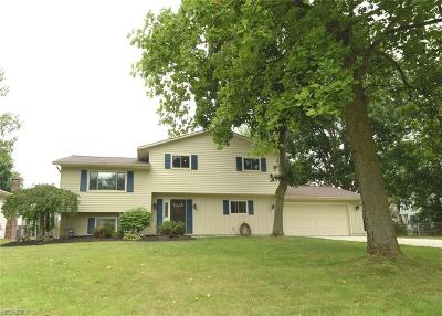 Strongsville Single Family Home For Sale: 8445 Barton Dr