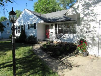North Olmsted Single Family Home For Sale: 4623 Canterbury Rd