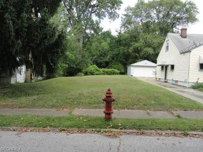 Garfield Heights Residential Lots & Land For Sale: Clearview Rd