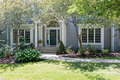 Chagrin Falls Single Family Home For Sale: 17571 Lakesedge Trl