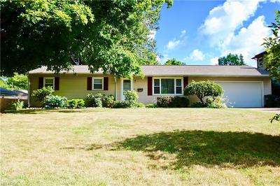 Mentor-On-The-Lake Single Family Home For Sale: 7507 Miami Rd