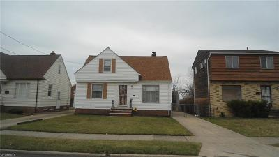Cleveland Single Family Home For Sale: 4070 East 175th St