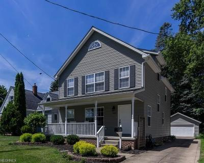 North Olmsted Single Family Home For Sale: 5222 Dewey Rd
