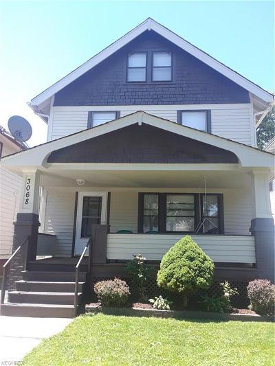 Cleveland Single Family Home For Sale: 3068 West 114th St