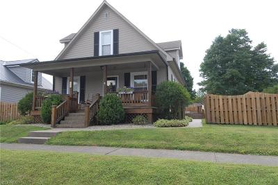 Philo OH Single Family Home For Sale: $139,000