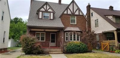 Cleveland Single Family Home For Sale: 3328 West 162nd St