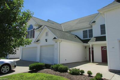 Geauga County Condo/Townhouse For Sale: 16487 Cottonwood Pl