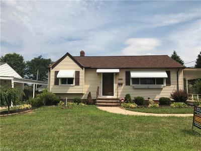 Cuyahoga County Single Family Home For Sale: 13580 Brookhaven Blvd
