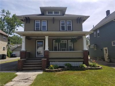 Elyria OH Single Family Home For Sale: $99,500