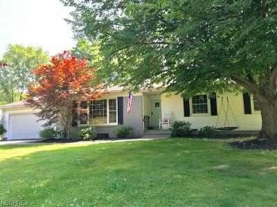 Cuyahoga County Single Family Home For Sale: 328 Hickory Hill Rd